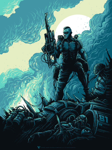 "Coming Black Friday: ""Rogue Trooper"" by Dan Mumford & Free Shipping All Weekend!"