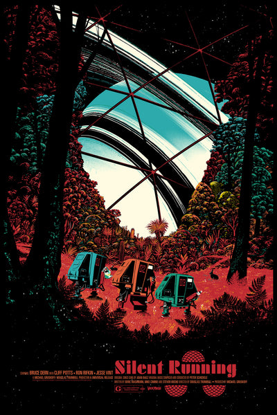 Silent Running Alternative Movie Poster Raid71