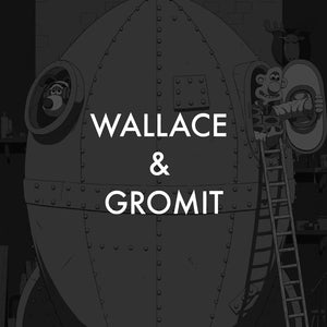 vice press wallace & Gromit screen print poster collection