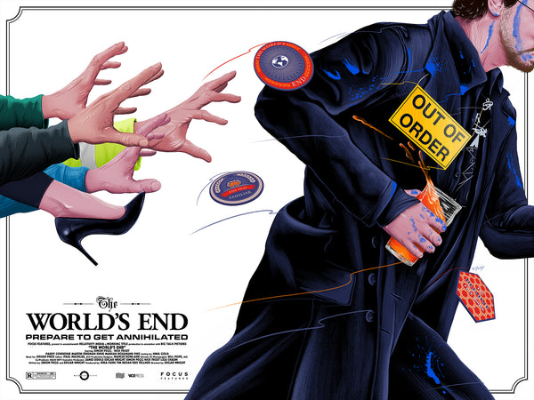 Worlds End Alternative Movie Poster Doaly Variant