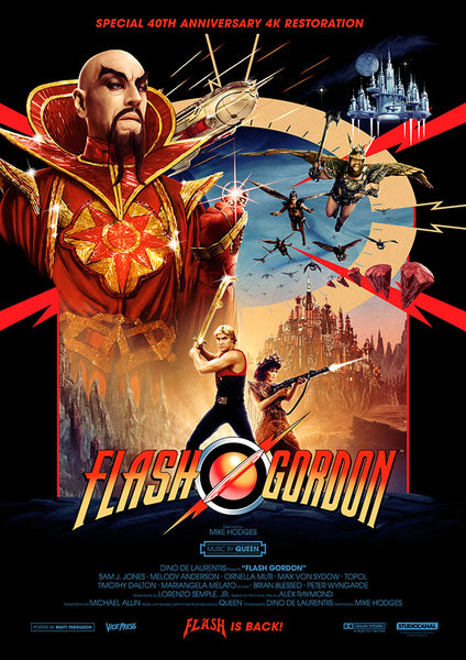 Flash Gordon one sheet Matt Ferguson Alternative Movie Poster