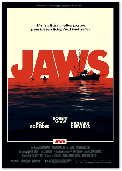 jaws matt ferguson poster vice press editions