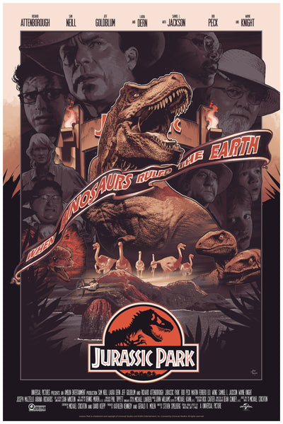 Jurassic Park John Guydo Alternative Movie Poster