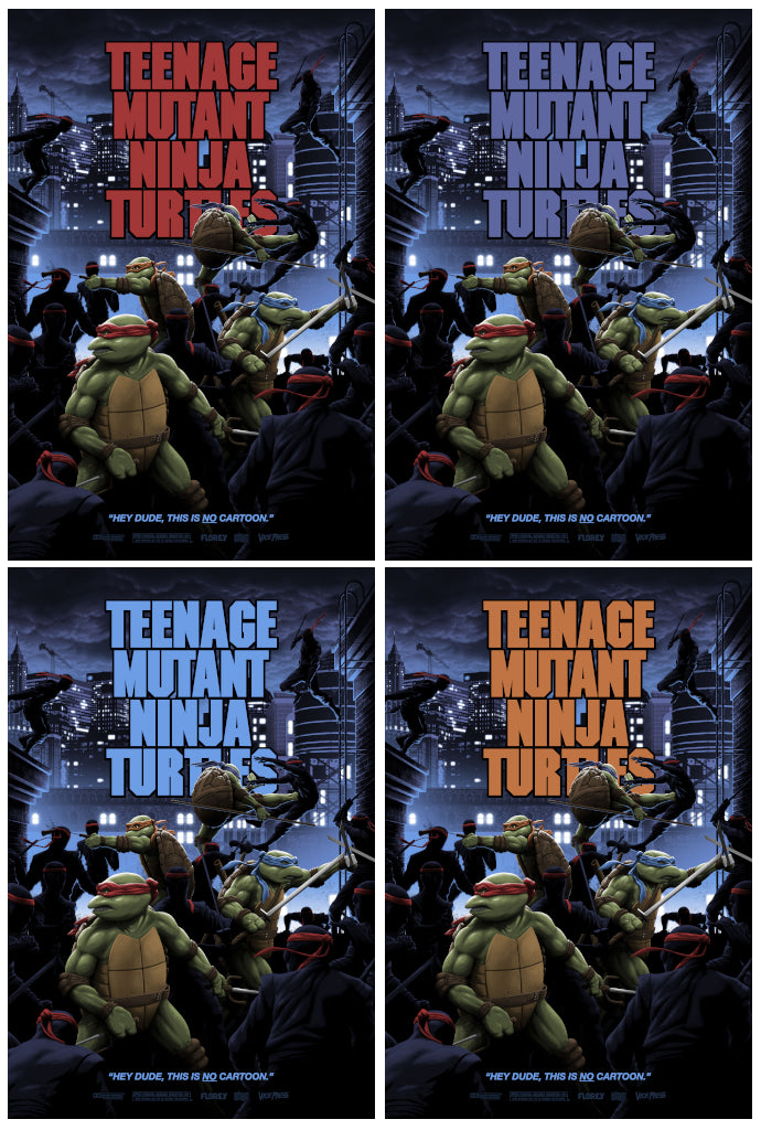 teenage mutant ninja turtles Florey