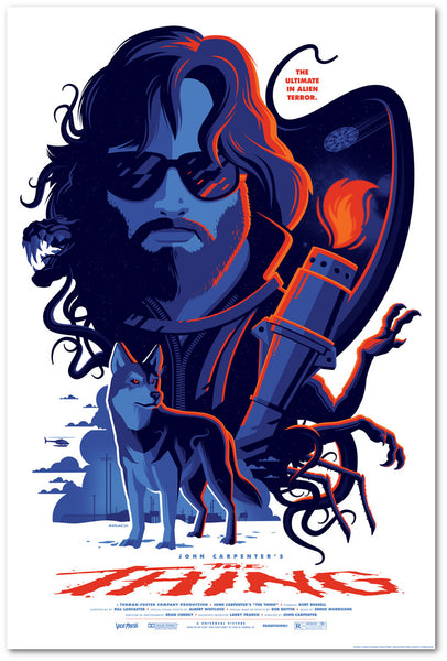 the thing tom whalen vice press poster