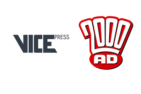 Vice Press Announce 2000 AD Licensing Agreement With Rebellion.