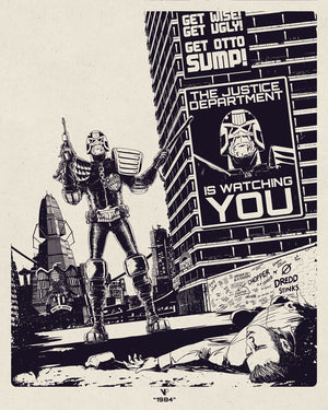 Judge Dredd - 1984 Keyline Variant Edition