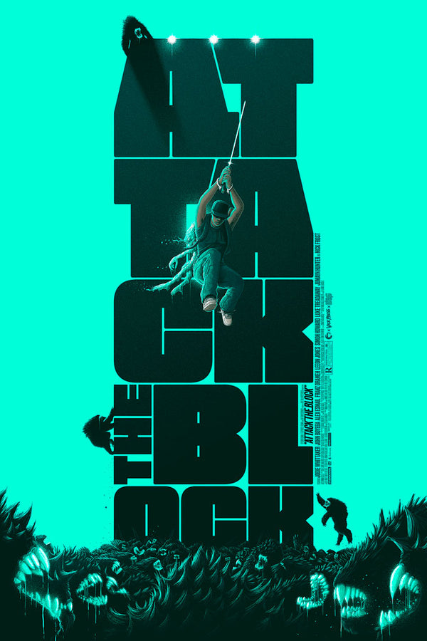 Attack The Block Patrick Connan Movie Poster Vice Press