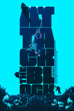 Attack The Block Variant Patrick Connan Movie Poster Vice Press