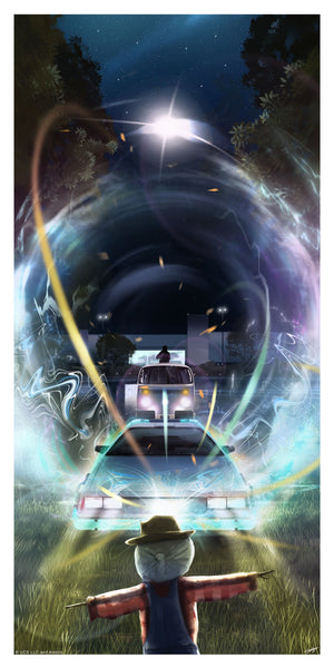 Back To The Future Andy Fairhurst Poster Variant