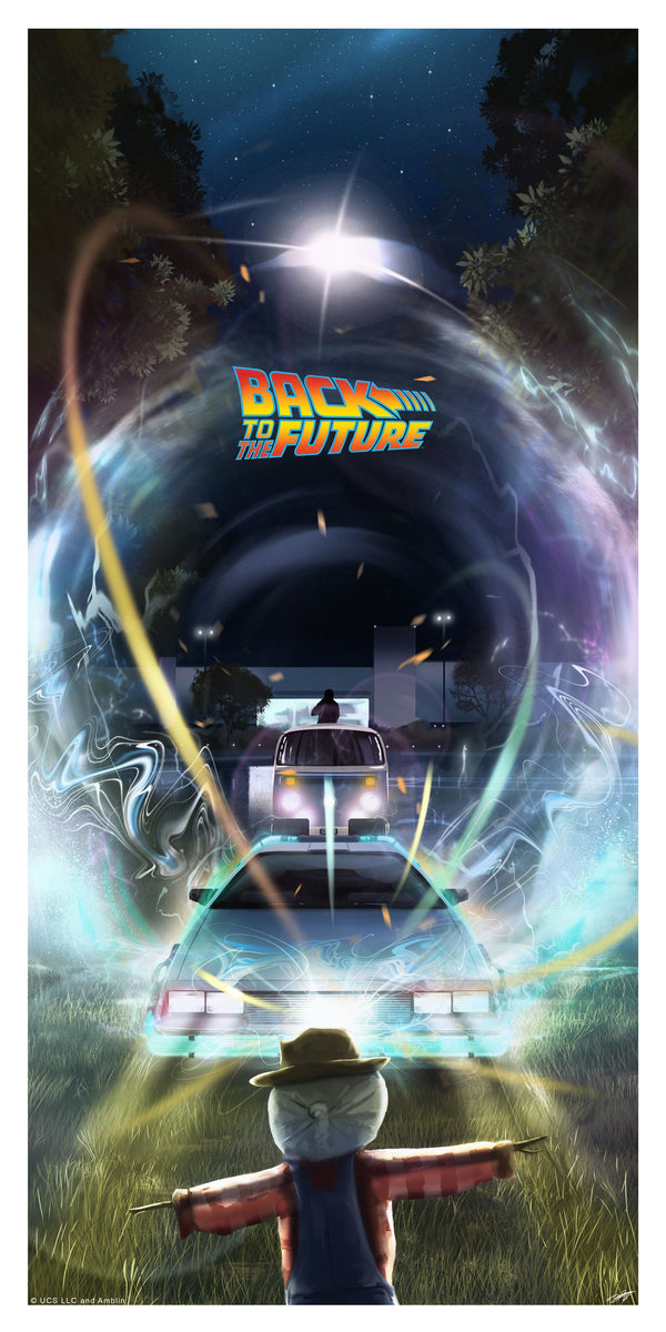Back To The Future Andy Fairhurst Poster