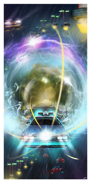 Back To The Future Part II 2 Andy Fairhurst Poster Variant
