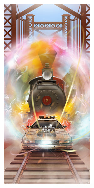 Back To The Future Part III 3 Andy Fairhurst Poster Variant