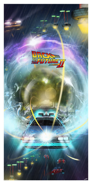 Back To The Future Part II 2 Andy Fairhurst Poster
