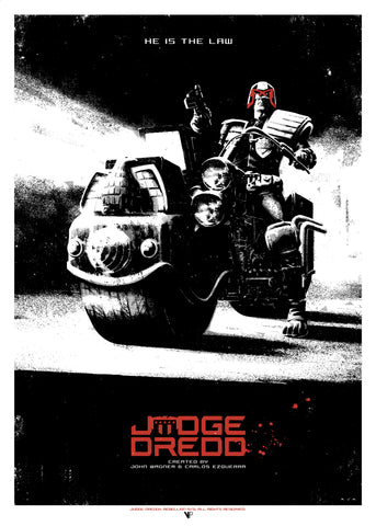 Judge Dredd - He Is The Law