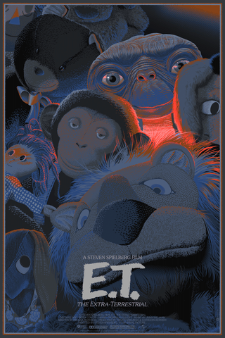 E.T. The Extra Terrestrial Variant