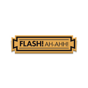 "Flash Gordon "" Flash! Ah-Ahh!"" Enamel Pin Set"