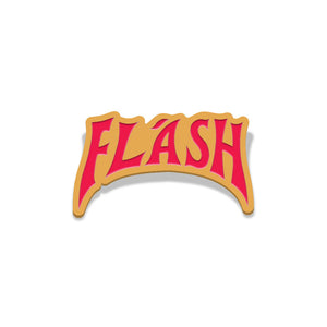 flash gordon ringer logo enamel pin florey vice press