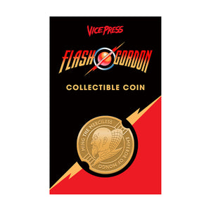 flash gordon ming the merciless coin vice press florey