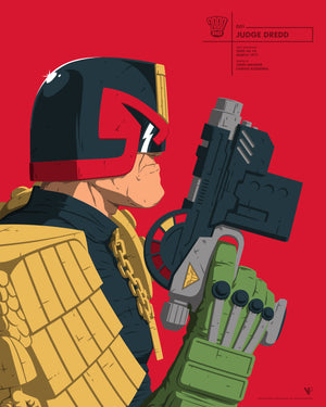 Judge Dredd and Judge Death Face Off Set