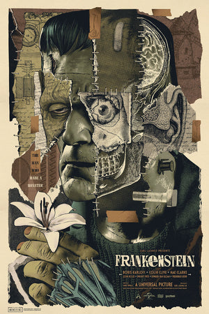Frankenstein Anthony Petrie Alternative Movie Poster