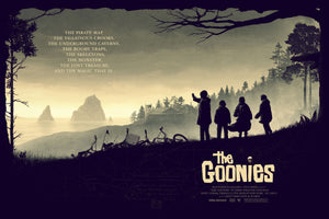 The Goonies Film Poster by Matt Ferguson and Florey