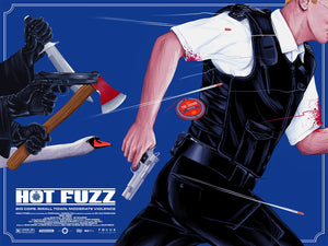 Hot Fuzz Alternative Movie Poster Doaly