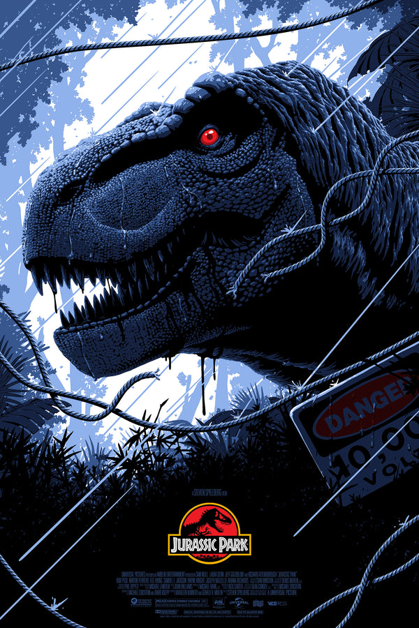 Jurassic Park Alternative Movie Poster Florey