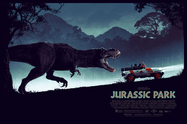 Jurassic Park Alternative Movie Poster Matt Ferguson variant