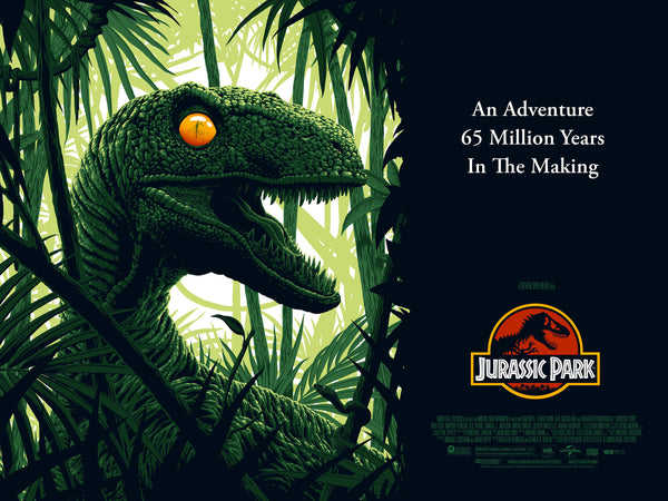 Jurassic Park Florey Quad Alternative Movie Poster