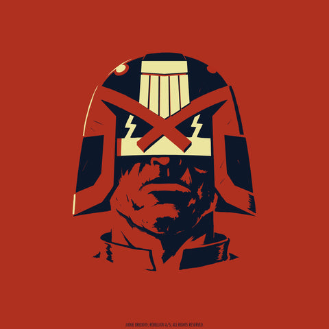 2000 AD Headshots - Judge Dredd