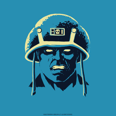 2000 AD Headshots - Rogue Trooper