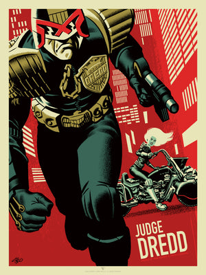 Judge Dredd and Judge Anderson