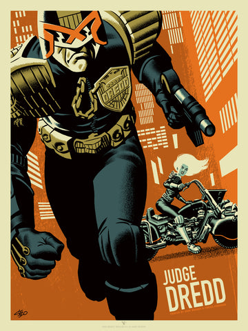 Judge Dredd and Judge Anderson Variant