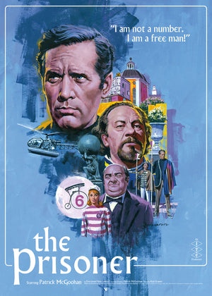 The Prisoner Art Print Poster Paul Mann