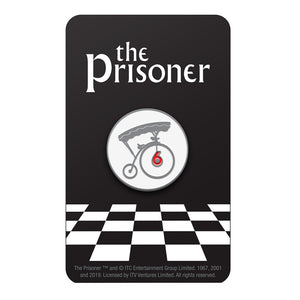 Prisoner Number 6 Pin Badge Florey
