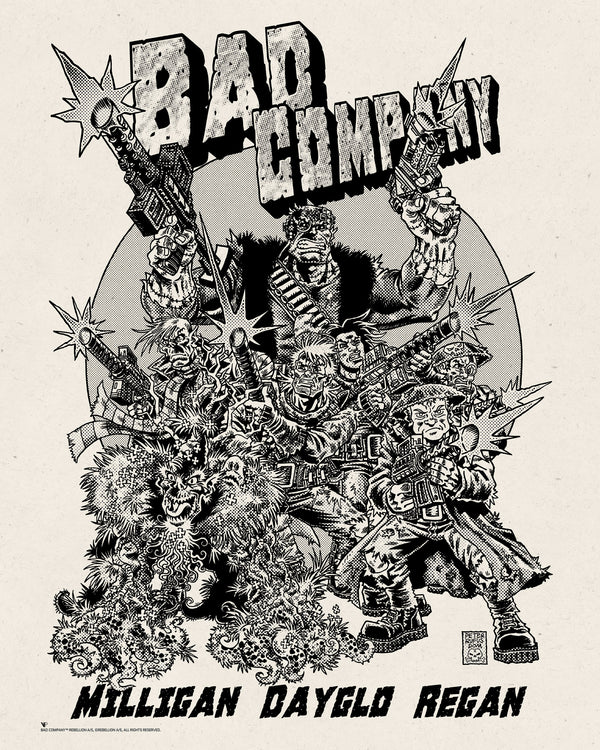 Bad Company Screen Print Variant