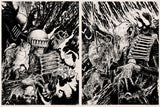 Dark Judges Set - Judge Fire and Judge Mortis, Judge Death and Judge Fear