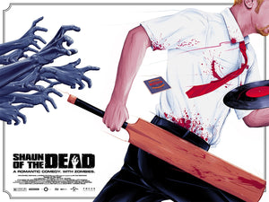 Shaun of the Dead Alternative Movie Poster Doaly Variant
