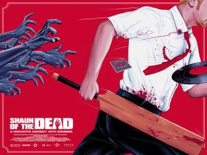 Shaun of the Dead Alternative Movie Poster Doaly