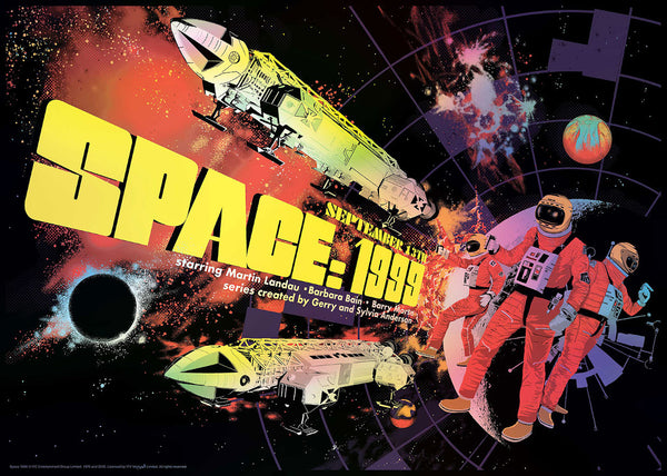 Space 1999 Raid71 Limited Edition Art Print