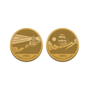 The Fog collector coin florey vice press