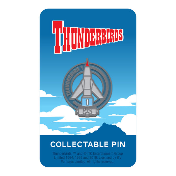 Thunderbird 1 limited edition collectable Thunderbirds pin Florey