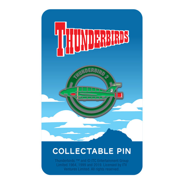 Thunderbird 2 limited edition collectable Thunderbirds pin Florey