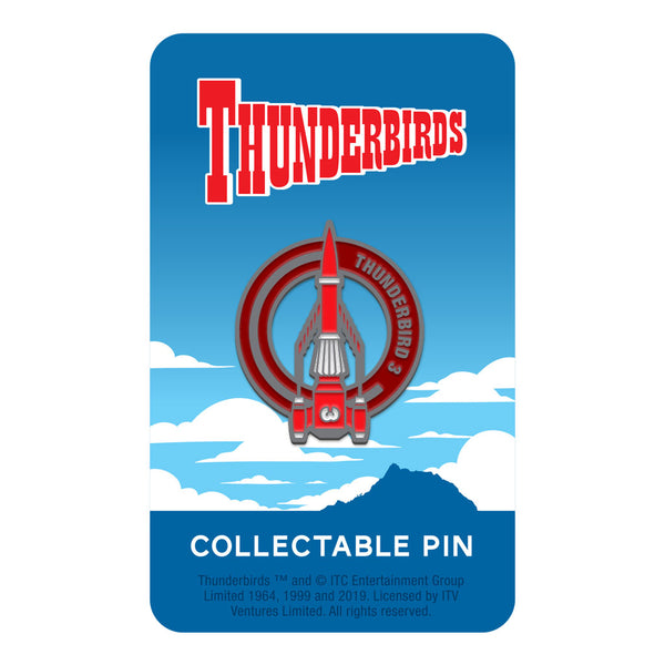 Thunderbird 3 limited edition collectable Thunderbirds pin Florey