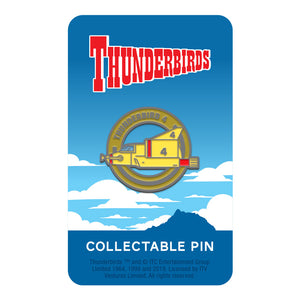 Thunderbird 4 limited edition collectable Thunderbirds pin Florey