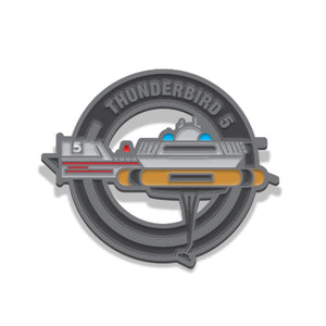 Thunderbird 5 limited edition collectable Thunderbirds pin Florey