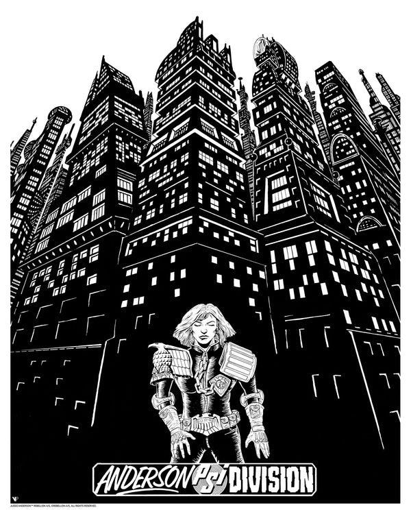 Judge Anderson - Eyejack Augmented Reality Print