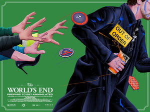 Worlds End Alternative Movie Poster Doaly