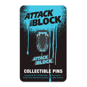 Attack the block enamel pin set florey